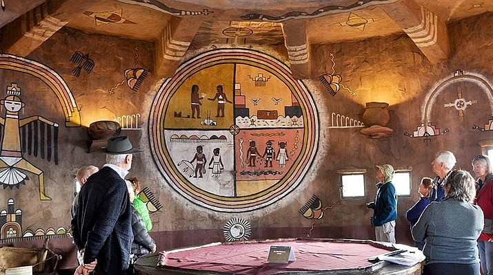 Conservators complete work on indigenous murals painted in 1932