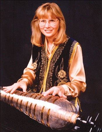 Lynn Drye, a self-taught glass armonica musician, will accompany six vocalists at the upcoming New Music Arizona concert at 3 p.m. on Sunday, June 14.<br> Courtesy Photo