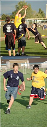The Cañon Elementary flag football team made another trip to Prescott Valley this past Thursday to take on Acorn Montessori.<br> Photos by Cheryl Hartz