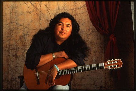 Aaron White will join other noted Native American musicians for a concert at Cottonwood's Old Town on Saturday. In March, flutist R. Carlos Nakai will appear at Old Town.<br> Courtesy Photo