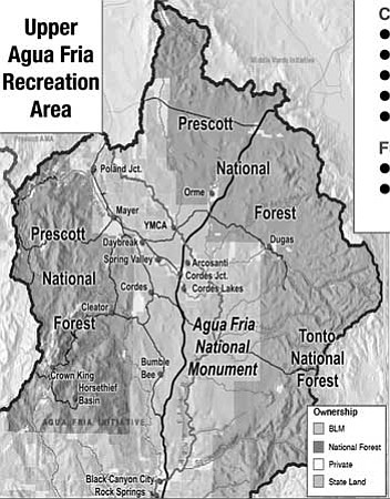 Workshops will help plan sustainable recreation in these forest areas<br> Courtesy map