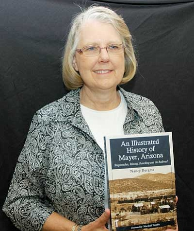 BBNPhoto/Cheryl Hartz<br /><br /><!-- 1upcrlf2 -->Author Nancy Burgess will sign her book about Mayer on Saturday.