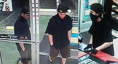 Sheriff's deputies are looking for this man who entered the Circle K store Tuesday night and took an unspecified amount of cash.