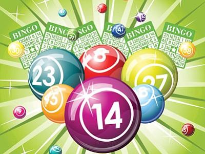 Bingo starts at 6 p.m. Wednesday, Aug. 13 — doors open at 5 p.m. — at the Cordes Lakes Community Center. (Courtesy image)