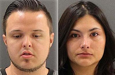 Justin MacGregor, 29, and Jessica Chavez, 25.