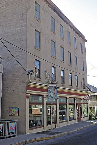 The Hotel Jerome now houses two art galleries, including the Jerome Artists Cooperative Gallery, on the main floor and the Jerome Kids Art Workshop on a sub floor. The 1917 building is being considered for a special project and fund-raising effort to turn it into affordable apartments. The Coop Gallery is located in what was originally the hotel lobby.