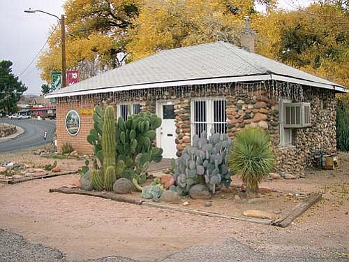The Verde Valley Wine Consortium has an arrangement to use the old rock jail at the north end of Old Town Cottonwood as their new home. They will participate in the Chocolate Walk Dec. 6.