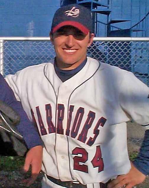 Courtesy Photo Matt Strickland in his Sterling Baseball Uniform.