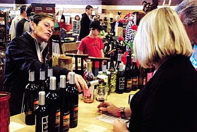 Pecan, Wine and Antique Festival returns<br /><br /><!-- 1upcrlf2 -->Feb. 11-13<br /><br /><!-- 1upcrlf2 -->The 11th annual Pecan, Wine and Antique Festival, sponsored by Cliff Castle Casino-Hotel, is Friday noon-6 p.m., Saturday, 9 a.m.-6 p.m. and Sunday 10 a.m. to 5 p.m. at the Camp Verde Community Center. Admission is $12.50, including wine glass and tasting tickets. Try wines from Arizona wineries, art and antique show, food, BBQ, live music and seminars. Call (800) 827-1160 or visit www.pecanandwinefestival.com.<br /><br /><!-- 1upcrlf2 -->