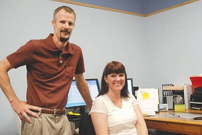 VVN/Steve Ayers<br> The Town of Camp Verde announced on Wednesday that it had created an economic development director's position and hired Melissa Preston for the job. Preston's former position, that of finance director, was also filled this week by Camp Verde native Mike Showers.
