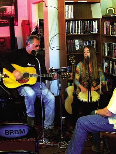 """Bent River Books and Music features event-filled weekend<br /><br /><!-- 1upcrlf2 --><br /><br /><!-- 1upcrlf2 -->This weekend features music, an author talk plus a fun dog-friendly event in the middle of Old Town Cottonwood. Beginning Friday evening Bent River Books presents alt-country artist Robin Dean Salmon. <br /><br /><!-- 1upcrlf2 -->Robin has recently moved to the Verde Valley after fronting two bands: See No Evil and Christopher Robin. It is while he was with See No Evil that Robin secured a deal with Epic records that led to two national releases. <br /><br /><!-- 1upcrlf2 -->For his latest alt-country release, """"Gasoline,"""" recorded in Nashville, Robin was able to work with one of his idols, Rodney Crowell, who collaborated on one of the album's songs. Robin now tours the local Arizona scene with his acoustic show and willplay on the new Bent River stage for the first time this Friday.<br /><br /><!-- 1upcrlf2 -->During the day on Saturday at 11 a.m.you can get your dog's portrait taken for Christmas.Nick of Time Productions and Bent River Books are hosting this event to benefit the Greyhound Pets of Arizona which is dedicated to helping offset medical costs of caring for retired racing Greyhounds. <br /><br /><!-- 1upcrlf2 -->All proceeds from this event go directly to Greyhound Pets of Az. Nick will be setting up his studio inside Bent River Books and, for a suggested donation of $5-$10,you will receive a professional quality 4x6 print and an option to order more products. Refreshments will be served as well.<br /><br /><!-- 1upcrlf2 -->The Saturday fun continues at 6 p.m.asMike McReynolds and Friends take the stage at the popular local venue. Mike and friends are an extremely accomplished group featuring beautiful folk harmonies. They are quite popular in the valley and sing a diverse mix of folk and popular songs. This showtypically draws an enthusiastic crowd so get there early.<br /><br /><!-- 1upcrlf2 -->On Sunday Bent River is hosting a talk at 1:3"""