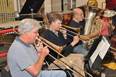 The Cottonwood Community Band will perform during the Chocolate Walk in Old Town on Dec. 3, at the Cottonwood Recreation Center on Dec. 4, at the Rock of Ages Lutheran Church in Sedona on Dec. 12 and at Verde Baptist Church with the Verde Valley Voices on Dec. 17.