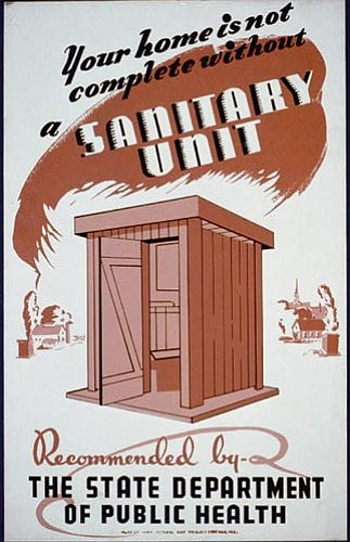 It was a fact that many of the diseases that plagued rural America could be traced back to shoddily built and unsanitary outhouses.
