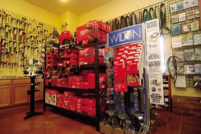 VVN/Steve Ayers<br /><br /><!-- 1upcrlf2 -->Pieh Tool Company will be Camp Verde's first power tool dealer now that they offer a complete line of Milwaukee tools, blades, bits and accessories, along with Jet industrial tools.