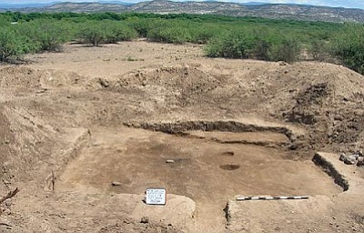 Courtesy photo<br /><br /><!-- 1upcrlf2 -->When Camp Verde developer Scott Simonton was surveying property at the Simonton Ranch development several years ago he discovered he had a prehistoric pit house village. Items unearthed during the excavation will be on display at Saturday's opening of the Verde Valley Archeology Center.