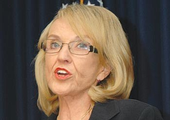 """""""I will just always believe that there are evil people and I don't know what the solution is, how you're ever going to stop it.''<br /><br /><!-- 1upcrlf2 -->-Gov. Jan Brewer"""