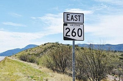 The future widening of State Route 260 could be the best opportunity for installing broadband as a piggyback project as described by SB 1402. VVN/Jon Pelletier