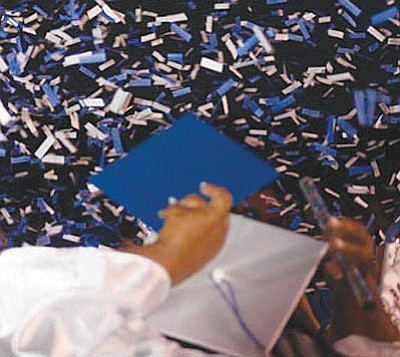 Camp Verde High School graduation ceremonies begin at 7 p.m. at Sam Hammerstrom football field.