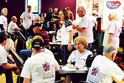 The annual BeneVet bowling fundraiser will be held Saturday and Sunday at Cliff Castle Casino's Shake, Rattle and Bowl. VVN file photo