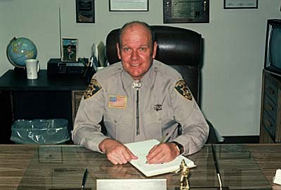 "Former Yavapai County Sheriff Harold ""Curly"" Moore, 86, passed away Monday morning, March 2, 2015, in Henderson, Nevada. He served as Sheriff from Jan. 1, 1977 through Dec. 31, 1988."