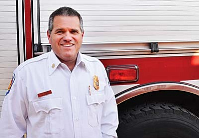 Terry Keller, fire chief for Montezuma-Rimrock and Camp Verde fire districts