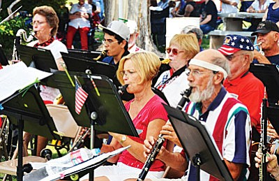 The Cottonwood Community Band will present its winter concert both in both Camp Verde and in Cottonwood this year. (Courtesy photo)