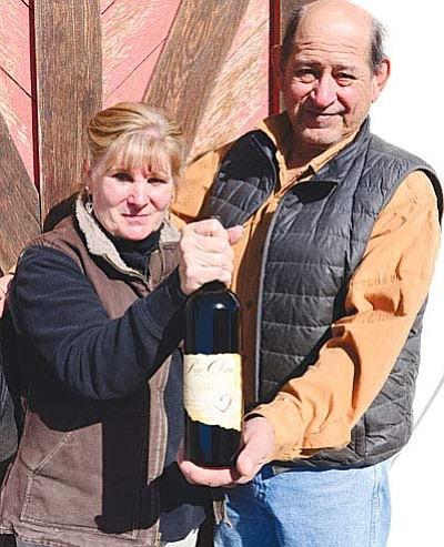 Clear Creek Winery opens a tasting room in Camp Verde. Owners, Sue and Ignacio Mesa grow, harvest, and blend their own wines. The grand opening of the tasting room is on Friday, Dec. 11.