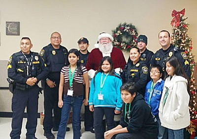 'Shop with a Cop' is an annual event that brings children together with law enforcement agencies to celebrate gift giving. (Photo courtesy of Don Decker)