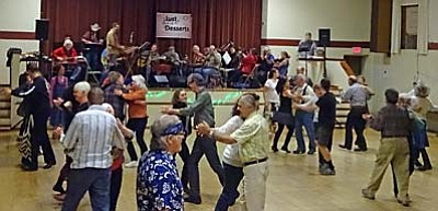 <b>No partner, no experience required for Contra Dance at Cottonwood Civic Center</b>
