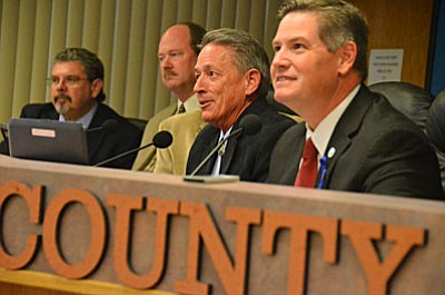 The Yavapai County Board of Supervisors held a public hearing Wednesday regarding a request to raise library funding by 16 percent.