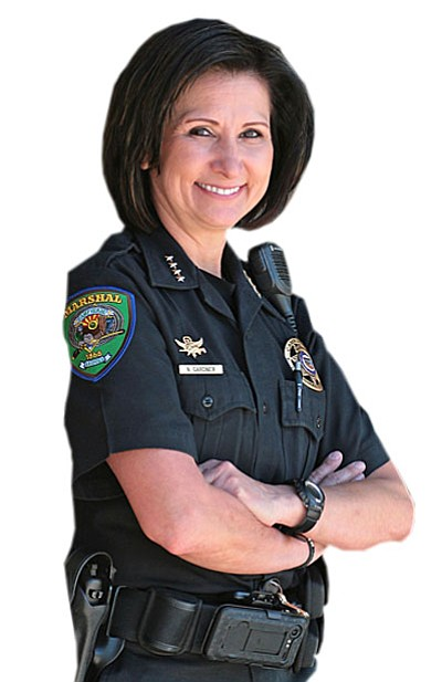 Camp Verde Marshal Nancy Gardner