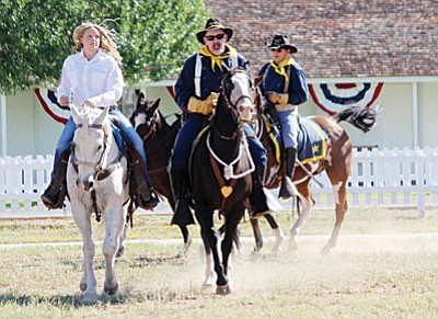 At 2 p.m. Sept. 25 on the Parade Grounds of Fort Verde State Historic Park, eight of Camp Verde's young ladies will show their horsemanship, poise and personality as a panel of judges will select the 2016 Colonel's Daughter. (VVN file photo)