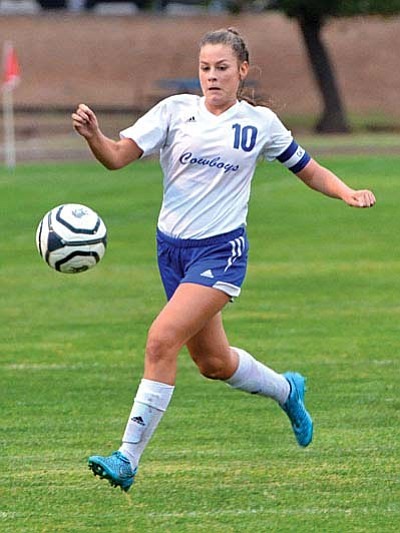 Raiven Alvey is this week's Camp Verde Bugle Athlete of the Week. (VVN/Vyto Starinskas)<br /><br /><!-- 1upcrlf2 --><br /><br /><!-- 1upcrlf2 -->