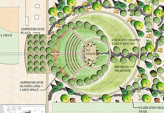 Towns Budget Woes Postpone Park Amphitheater Plans Chino Valley Review Valley AZ