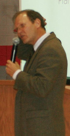 Duane Noggle, superintendent of Chino Valley Unified School District