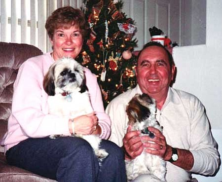 """Duane """"Dewey"""" and Rosemarie """"Mike"""" Hein with their pets in a recent photo.<br /><br /><!-- 1upcrlf2 --> Courtesy photos"""