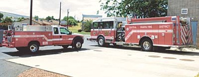 Les Stukenberg/PNI<br /><br /><!-- 1upcrlf2 -->Chief Scott Freitag has big plans that come in a small package, as he believes outfitting a patrol truck, like the one shown here next to CYFD's Engine 59, could relieve the wear and tear on full-size fire engines by responding to medical calls and small fire incidents.