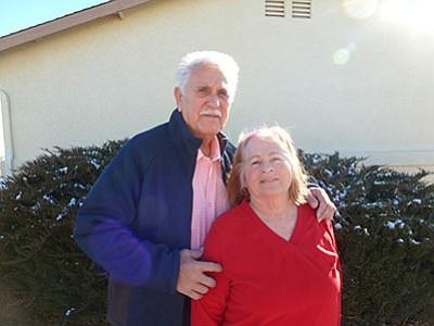 Rudy and Margo Salazar in 2016. (Diane DeHamer/Review)