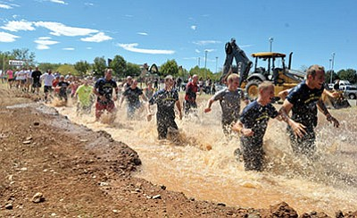 Chino Valley is preparing to hold a mud run as part of an extreme weekend with three grueling events scheduled to take place at Old Home Manor. In addition the mud run there's the Chino Grinder bike race and an all-day 5K run. (Les Stukenberg/PNI file photo)