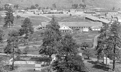 Sharlot Hall Museum/Courtesy photo<br>Fort Whipple is seen in the early 1870s.