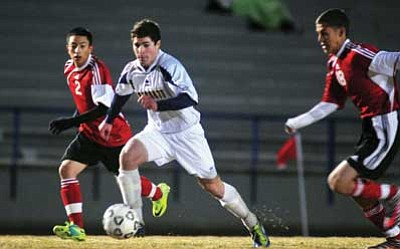 Prep Boys Soccer: Red-hot Prescott rips Coconino | The Daily Courier