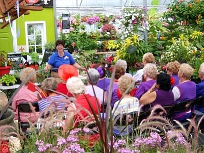 Courtesy photo<br>Free gardening classes begin for another year next Saturday.