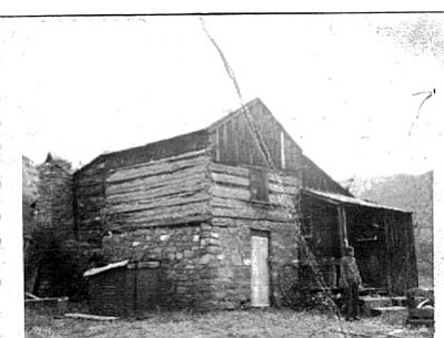 Courtesy photo<br> The Packard Cabin is shown in the 1960s.