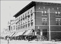 The Hotel St. Michael on the corner of Whiskey Row and Gurley has welcomed visitors since 1891. Prescott boasts a collection of historic hotels.<br> Courtesy/Sharlot Hall Museum