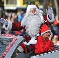 Matt Hinshaw/The Daily Courier, file<br> The 28th annual Prescott Christmas Parade that featured 103 entries - December 4, 2010.