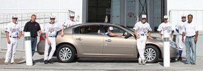 Courtesy Photo<br /><br /><!-- 1upcrlf2 -->The lucky winner of the Badger scholarship raffle will become the owner of this 2006 Buick Lucerne CX.