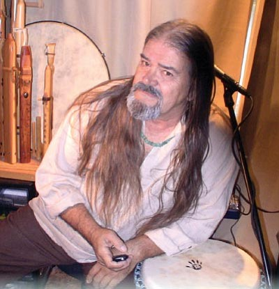 Courtesy photo<br /><br /><!-- 1upcrlf2 -->Sunny Heartley will play Native American-inspired flute music at a <br /><br /><!-- 1upcrlf2 -->concert Saturday benefiting the Kenosis Spirit Keepers. <br /><br /><!-- 1upcrlf2 -->