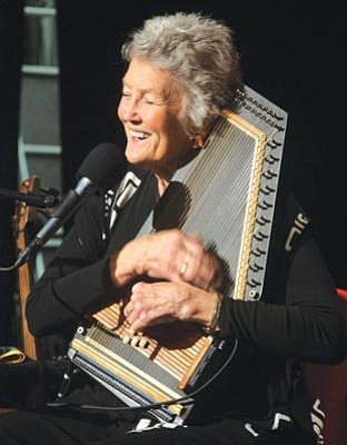 Courtesy photo<br>Peggy Seeger performs at the Elks Opera House in Prescott 7 p.m. Wednesday.