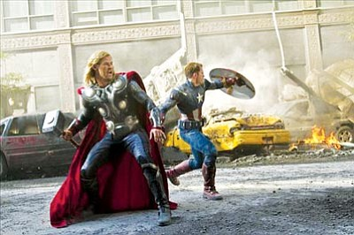 """""""The Avengers"""" opens May 4."""