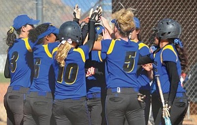Les Stukenberg/The Daily Courier<br /><br /><!-- 1upcrlf2 -->The 4th-ranked Prescott High softball team hosts the winner of No. 13 Buckeye Verrado and No. 20 Avondale Agua Fria Tuesday at 4 p.m. in Prescott at Pioneer Park.